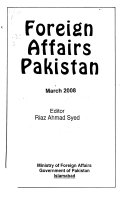 Foreign Affairs Pakistan Book PDF
