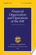 Financial Organization And Operations Of The Imf Epub
