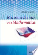 Micromechanics with Mathematica Book
