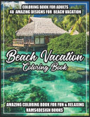 Beach Vacation Coloring Book
