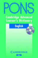 Cambridge Advanced Learner s Dictionary KLETT VERSION with CD ROM