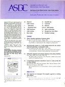 Journal of Dentistry for Children