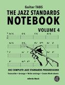 The Jazz Standards Notebook Vol 4 Guitar Tabs Book PDF
