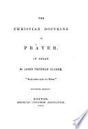 The Christian Doctrine of Prayer Book