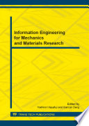 Information Engineering For Mechanics And Materials Research Book PDF