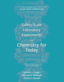 Safety Scale Laboratory Experiments