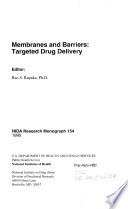 Membranes and Barriers Book