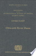 Ultra Cold Fermi Gases Book PDF