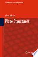 Plate Structures Book
