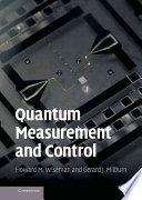 Quantum Measurement and Control Book
