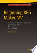 """Beginning RPG Maker MV"" by Darrin Perez"
