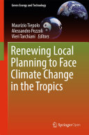 Pdf Renewing Local Planning to Face Climate Change in the Tropics Telecharger