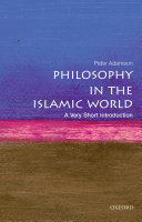 Philosophy in the Islamic World: A Very Short Introduction Book