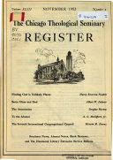 The Chicago Theological Seminary Register