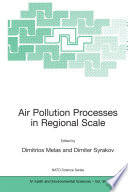 Air Pollution Processes in Regional Scale