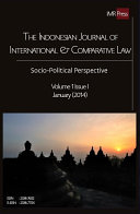 Indonesian Journal of International   Comparative Law  January 2014