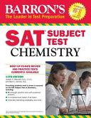 Barron s SAT Subject Test  Chemistry  13th Edition Book
