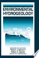 Environmental Hydrogeology Book