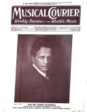 The Music Magazine musical Courier