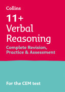 Collins 11      11  Verbal Reasoning Complete Revision  Practice and Assessment for CEM