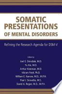 Somatic Presentations of Mental Disorders