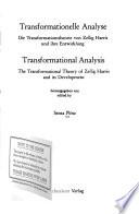 Transformationelle Analyse