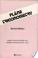 Plane Trigonometry