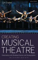 Creating Musical Theatre