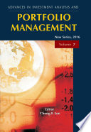 Advances in Investment Analysis and Portfolio Management  New Series  Vol   7