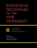Pdf Exegetical Dictionary of the New Testament, Vol. 3
