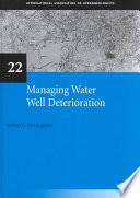 Managing Water Well Deterioration