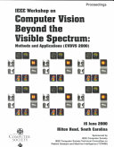 IEEE Workshop on Computer Vision Beyond the Visible Spectrum Book