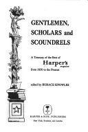 Gentlemen  Scholars  and Scoundrels