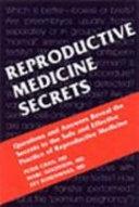 Reproductive Medicine Secrets Book