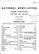 The K H News Letter Service