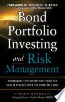 Bond Portfolio Investing and Risk Management Book