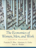 The Economics of Women  Men  and Work