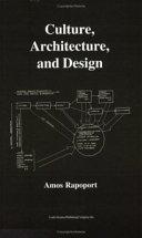 Culture, Architecture, and Design