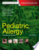 Pediatric Allergy  Principles and Practice