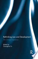 Rethinking Law and Development