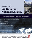 Application of Big Data for National Security Pdf/ePub eBook