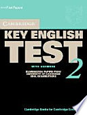 Cambridge Key English Test 2. Self Study. Student's Book with Answers. New Edition