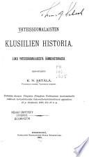 Yhteissuomalaisten klusiilien historia : luku yhteissuomalaisesta äännehistoriasta