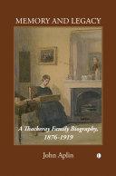 Memory and Legacy (Thackeray Vol 2) Pdf/ePub eBook