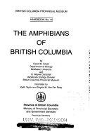 The Amphibians of British Columbia