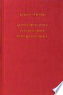 Anthroposophie, Psychosophie, Pneumatosophie