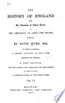 History of England from the Invasion of Julius Caesar to the Abdication of James the Second  1688 Book PDF