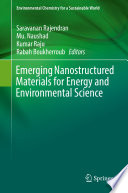 Emerging Nanostructured Materials For Energy And Environmental Science Book PDF