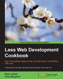 Pdf Less Web Development Cookbook