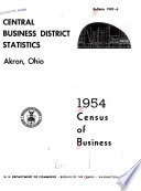 United States Census of Business  1954